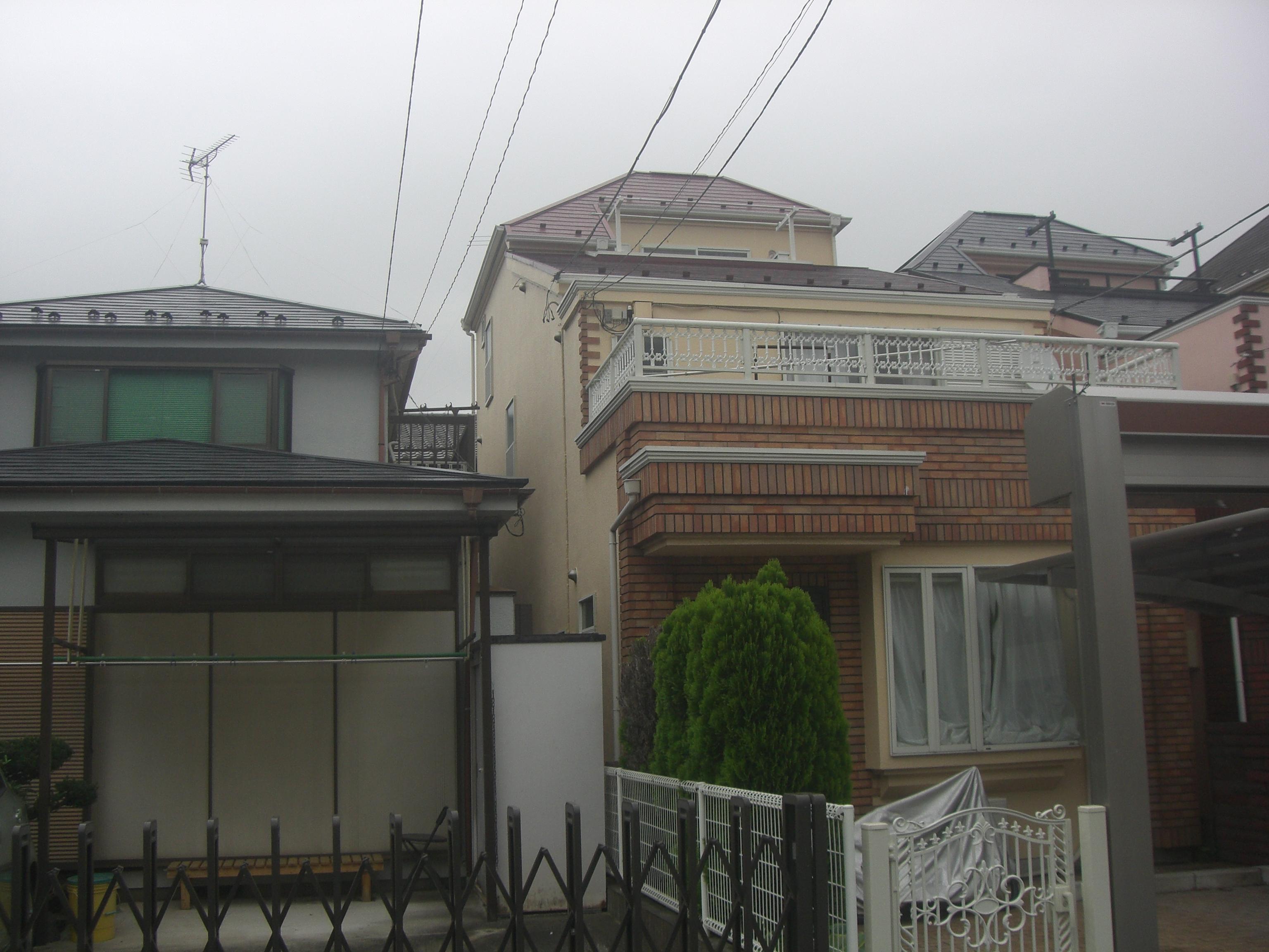 横浜市港北区M様邸 外壁塗装、屋根塗装