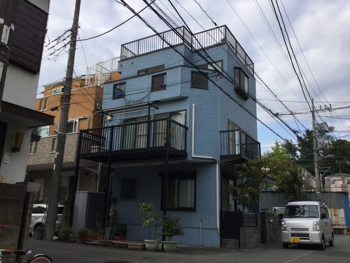 川崎市宮前区I様邸 外壁塗装、屋上塗装、防水工事