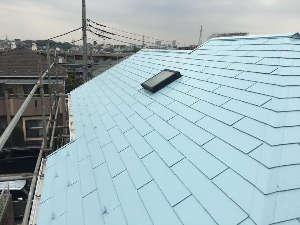 川崎市高津区屋根塗装サーモアイSi