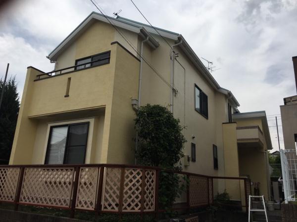 川崎市高津区S様邸 外壁塗装、屋根塗装