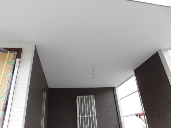 川崎区駐車場天井塗装水性ケンエース