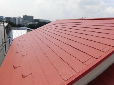 川崎市多摩区屋根塗装サーモアイSi