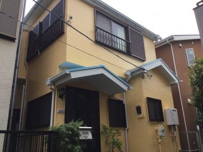 川崎市中原区K様邸 外壁塗装, 屋根塗装