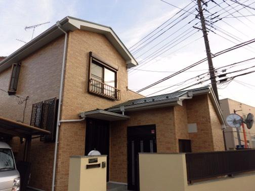 横浜市都筑区のM様邸 外壁、屋根施工