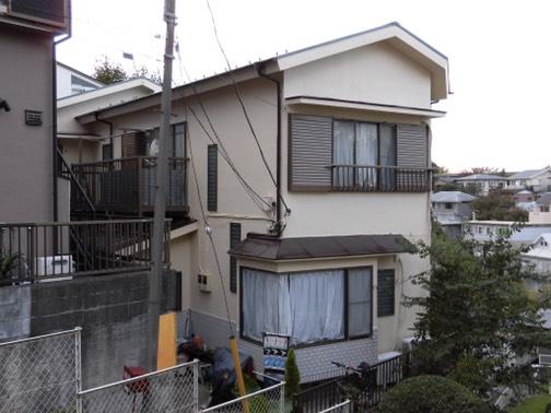 横浜市港北区のS様邸で外壁、屋根施工