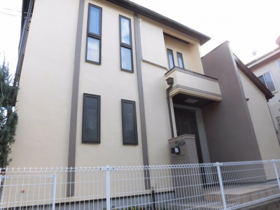 川崎市高津区で外壁塗装屋根塗装をしました!