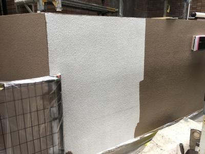 川崎市高津区で門塀塗装