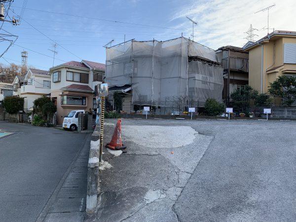 川崎市高津区で塗り替え工事が始まりました!