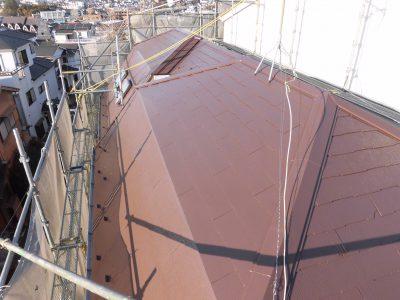 川崎市宮前区で屋根塗装‼️