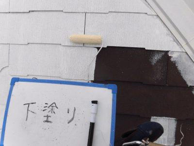 川崎市宮前区で屋根塗装しました‼️
