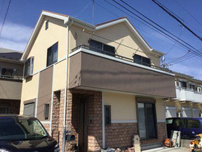 川崎市宮前区で外壁塗装屋根塗装をしました!