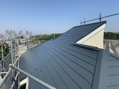 川崎市高津区で屋根塗装をしました