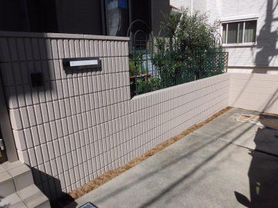 川崎市多摩区 門塀塗装