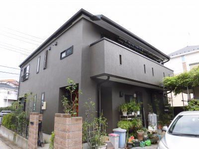 川崎市高津区で外壁・屋根塗装をしました!