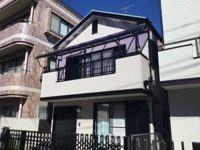 川崎市中原区で外壁塗装・屋根塗装をしました。
