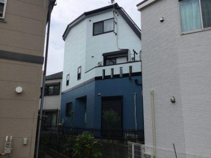川崎市多摩区で外壁塗装をしました。